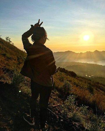 Amazing Sunrise over Mount Batur