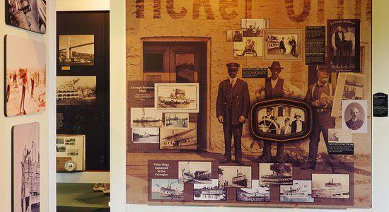 1000 Islands History Museum: Fantastic displays at the Arthur Child Heritage Museum
