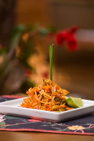 Ashram Zen Lounge and Cozinha Indiana: SALADA SOMTAM