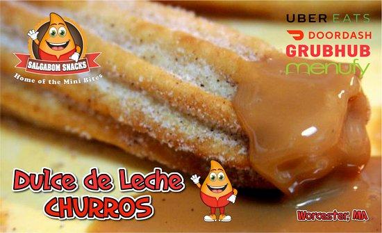 Churros with Dulce de Leche