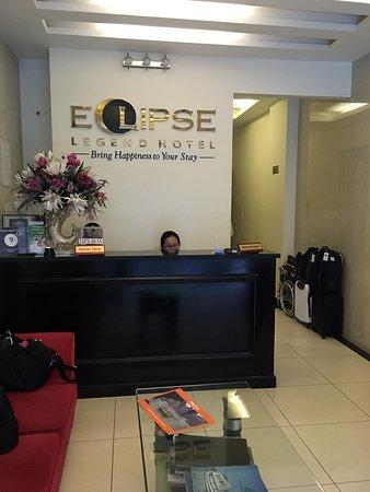 Eclipse Legend Hotel: Reception