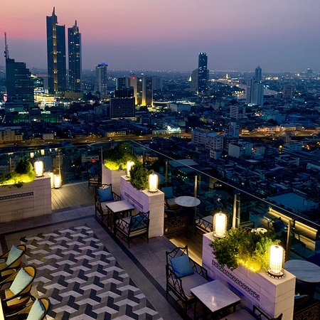 Yao Restaurant and Rooftop Bar, Bangkok - Si Phraya ...