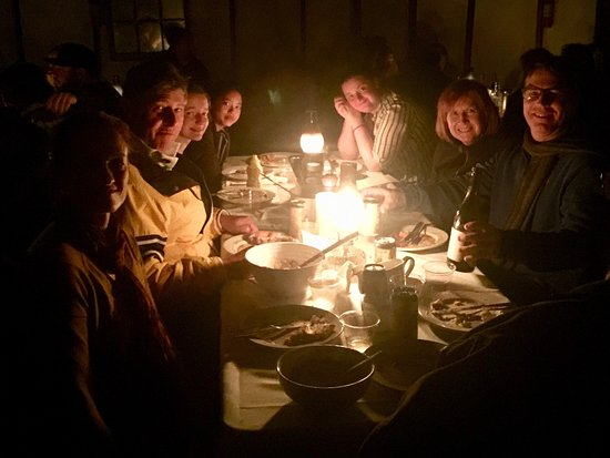 Group Sitting At The Candlelit Dinner Picture Of Montana Dinner Yurt Big Sky Tripadvisor Is drinking a black ghost oatmeal stout by madison river brewing company at montana dinner yurt. group sitting at the candlelit dinner