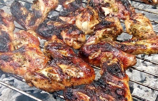 Tsada, Cyprus: Jerk Chicken