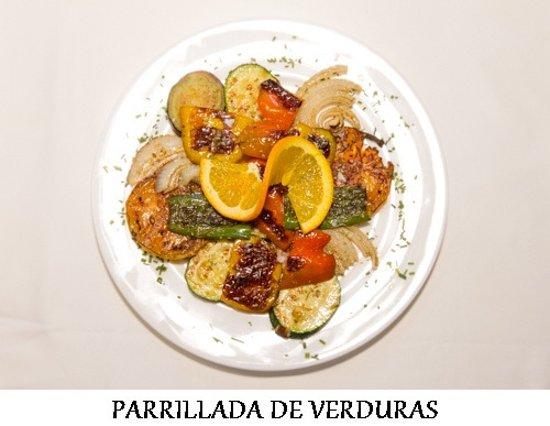 NUESTRAS PARRILLADA DE VERDURAS NATURALES