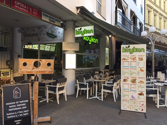 Koykan World Food Zagreb Restaurant Reviews Photos Tripadvisor