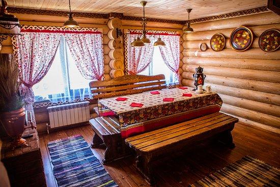 "Usadba Baths Complex: Баня на дровах ""Русь"", вместимость до 15 чел"