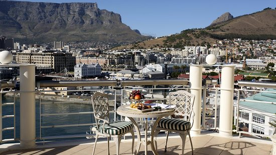 A View of the harbour from the V & A Waterfront - Cape Town