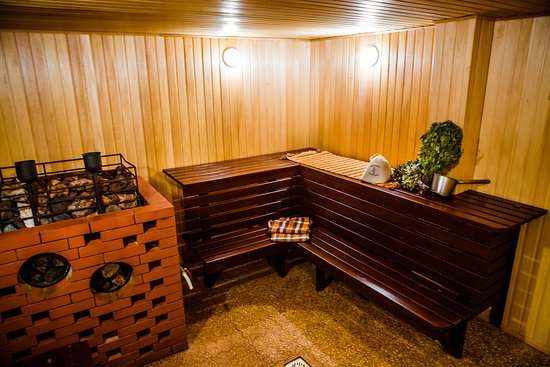 "Usadba Baths Complex: баня на дровах ""Греция"", парилка"