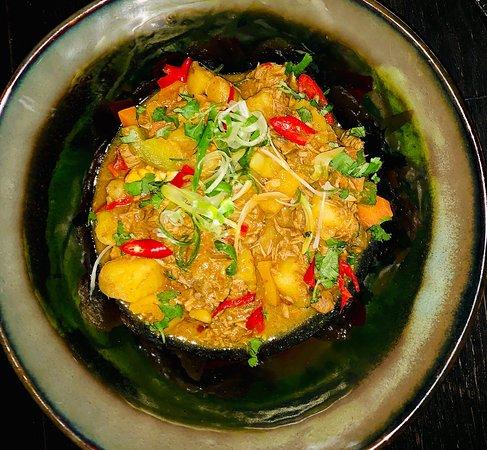 KAROOLAMMCURRY Gemüse / Reis