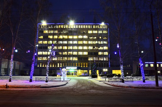 Tambov, Rusko: Информационно-выставочный центр входит в состав административных зданий предприятия