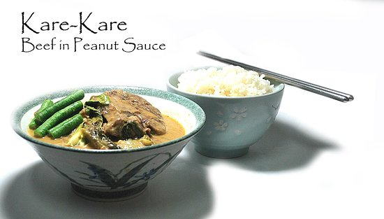 Ate Marita Cold Noodle House: Kare-kare
