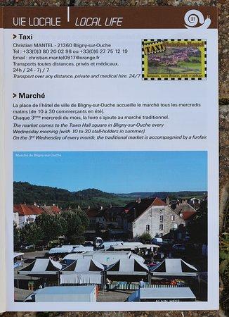 """Le livret d'informations sur la vallée de l'Ouche """"Entre collines et canal"""""""