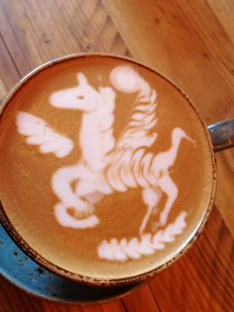 Flat Whites' Winchester: Such an artist and likeable young man