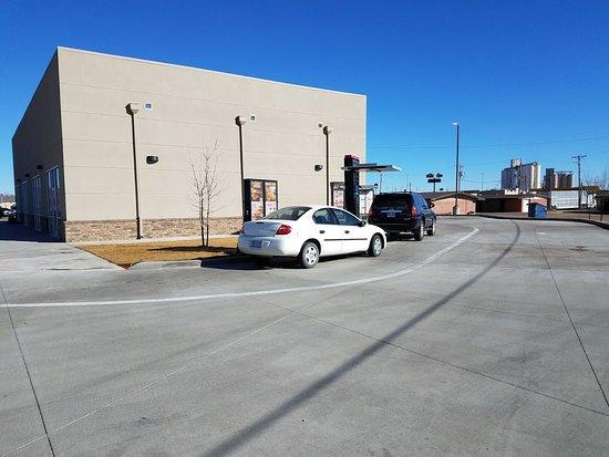 Hereford, TX: Drive thru menu.