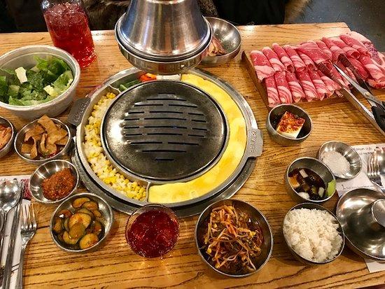 Baekjeong NYC: Beef Combo