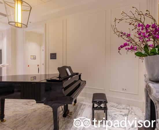 Hallways at the Waldorf Astoria Amsterdam