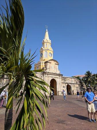Clock tower at main entrance
