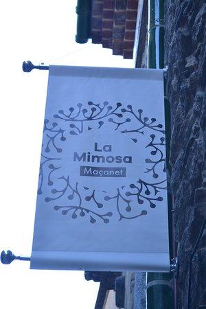 Maçanet de Cabrenys, España: Bienvenidos a La Mimosa