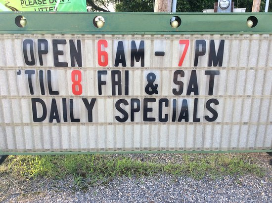 Royal, AR : Sunshine Store & Cafe hours