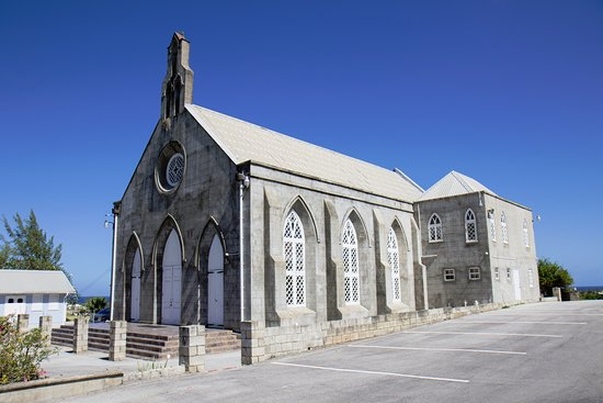 Saint Lucy Parish, Barbados: Main Church from side