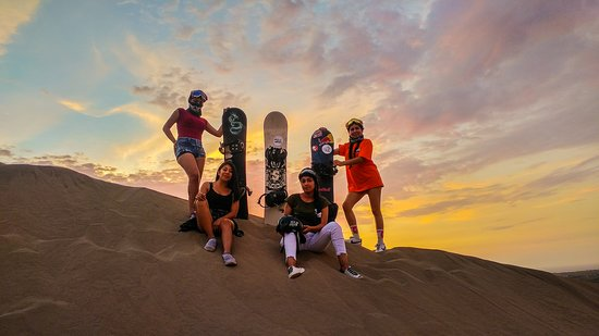 Chimbote, Peru: your best experience in a magical place- learn professional sandboarding.
