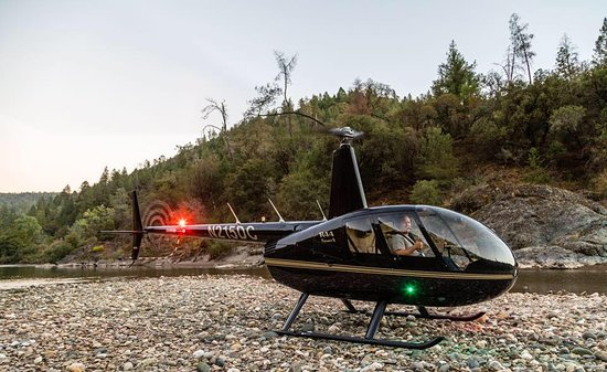 Auburn, CA: Our R44 Helicopter
