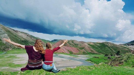 Pampachiri, Perù: viendo el horizonte y mas alla