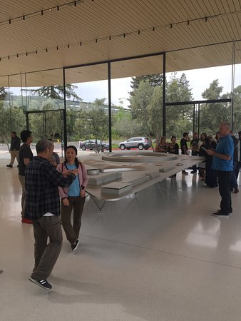 Apple's Space Circle at Cupertino