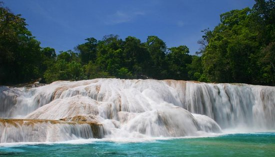 Tuxtla Gutierrez, Mexique: Cascadas de Agua Azul