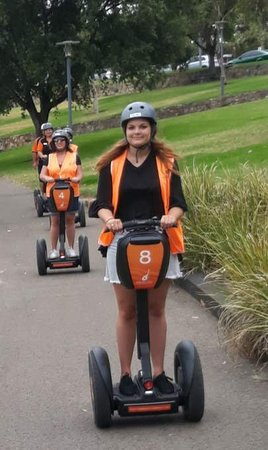"Greater Adelaide, Australia: To see the smile on my daughter's face is ""priceless"", to me. It was actually her suggestion, to try the Segway Tour. The gang at S.A. Segway Tour's went above and beyond with their customer interaction and satisfaction. Thankyou S.A. Segway Tour's.2 thumbs up,. :)"