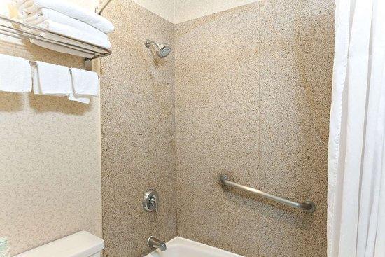 the shower gross foto di days inn by wyndham alhambra ca. Black Bedroom Furniture Sets. Home Design Ideas