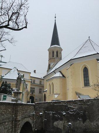Schloss Gumpoldskirchen im Dezember