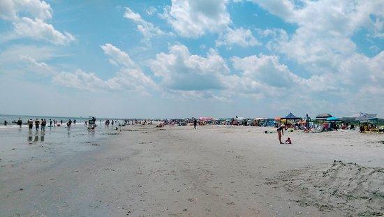 Ocean City Beach: Big Blue skies