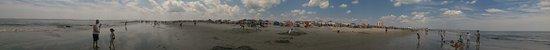 Ocean City Beach: 17th Street Panorama