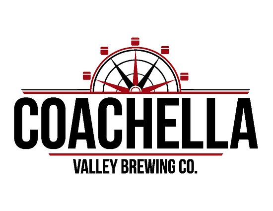 Thousand Palms, Californië: The Coachella Valley Brewing compass. Or is it a wheel of some sort?