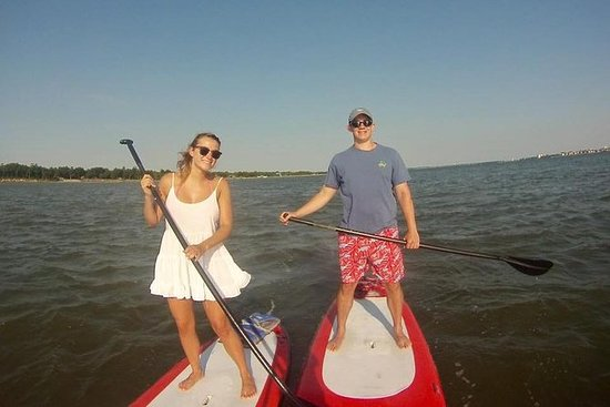 Passeio de Stand Up Paddleboard em Charleston Harbour