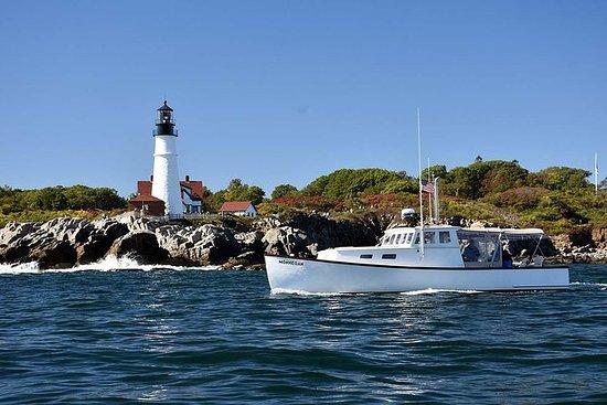 Charte privée de phare sur un bateau...