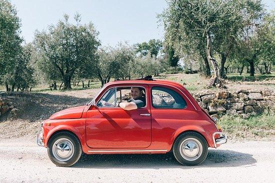 Privat 500 Fiat tur i Toscana Fra...