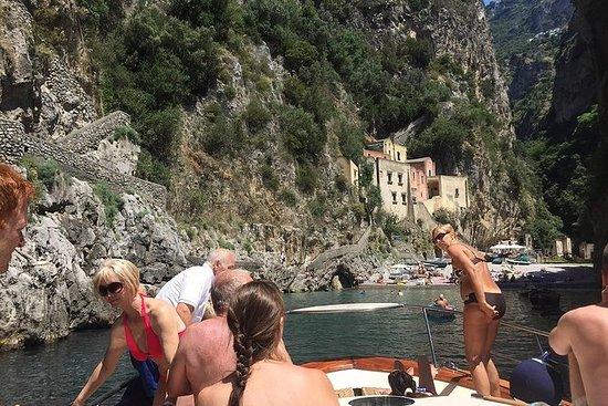 Amalfi og Positano semi-privat bådtur...