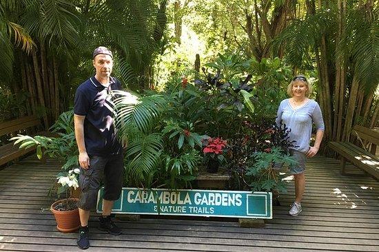 Roatan botaniske hage og Mayan Eden...