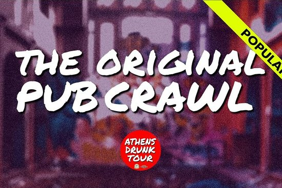The Original Pub Crawl - Athens Drunk...