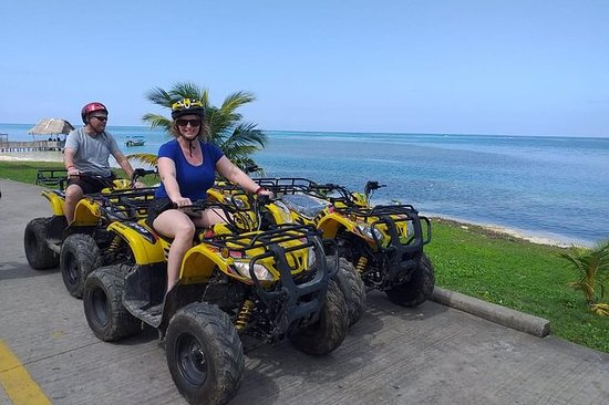 Roatan ATV Four Wheeler Bikes et Zip...