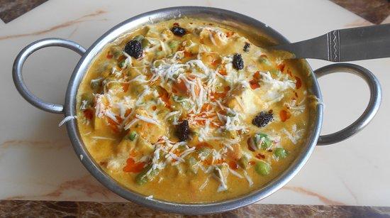 Indian Rasoi Restaurant: Mutter Paneer