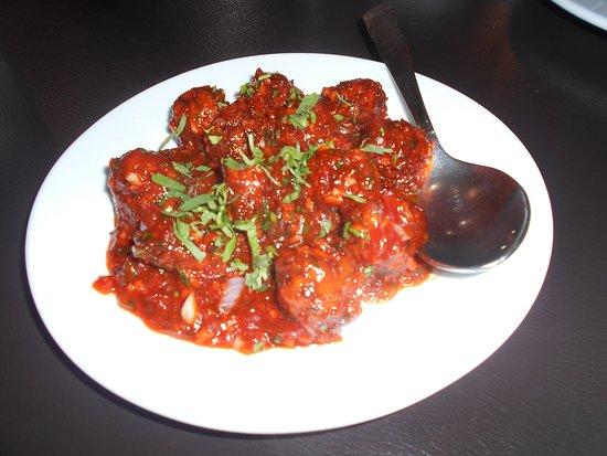 Indian Rasoi Restaurant: Veggie Manchurian