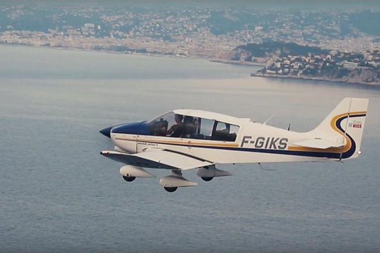 Discovery Flight over den franske...
