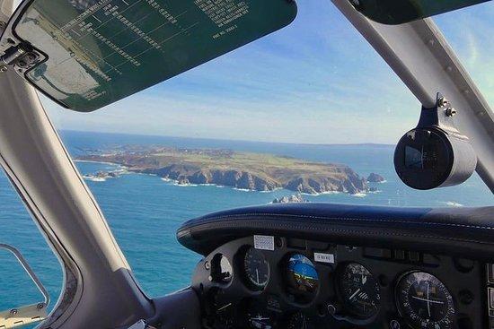 Vol découverte de Brest en avion privé