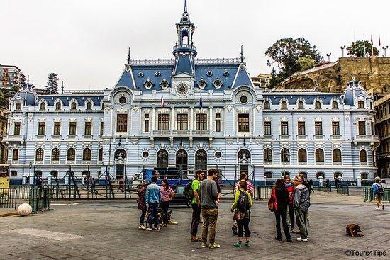 Tour a pie de Valparaíso privado