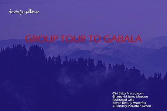 Tour en grupo a la ciudad de Gabala...