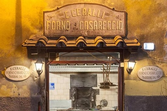 Pizza Making in Frascati and Wine